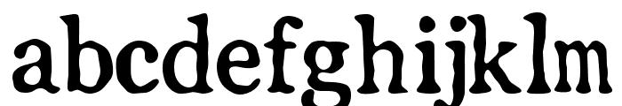 LLPearlWhite Font LOWERCASE