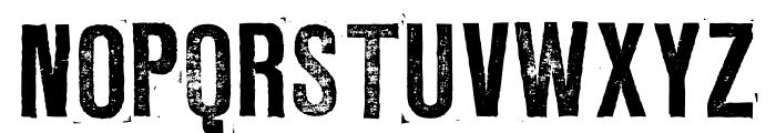 LLRubberGrotesque Font UPPERCASE