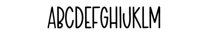 LSF Poppy Font UPPERCASE