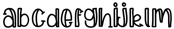 LSFWatermelonSlices Font LOWERCASE