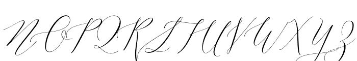 Lady Slippers Basic Font UPPERCASE