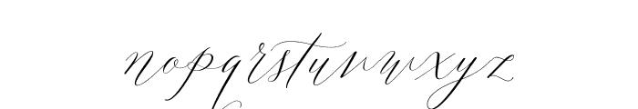 Lady Slippers Basic Font LOWERCASE