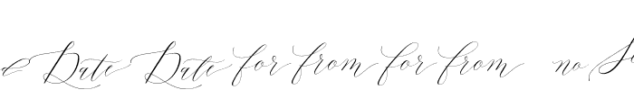 Lady Slippers Ornaments Font LOWERCASE