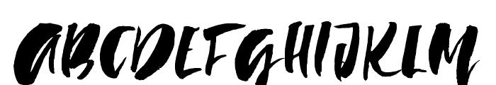LadyinRed-Regular Font UPPERCASE