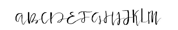 Lancaster-Regular Font UPPERCASE