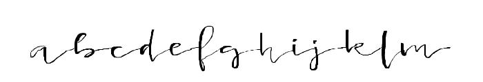 Lancaster-Regular Font LOWERCASE