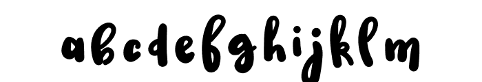 Lanchester Font LOWERCASE