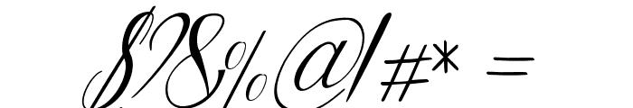 Lattonya Font OTHER CHARS