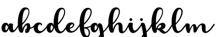 LaughelScript Font LOWERCASE