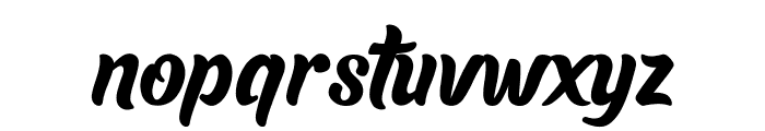 Lauthan Font LOWERCASE