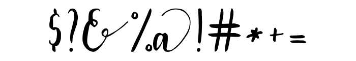Lavendia Font OTHER CHARS