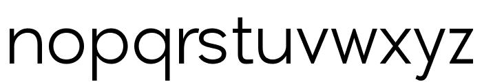 Lenis Font LOWERCASE