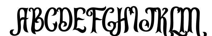 Leonardo da Vincen Font UPPERCASE