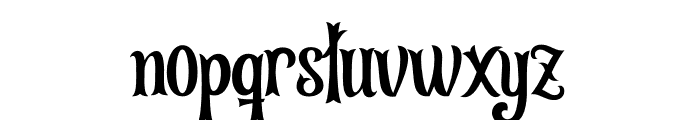 Leonardo da Vincen Font LOWERCASE