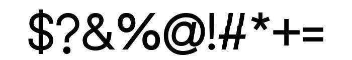 Leonare Medium Font OTHER CHARS