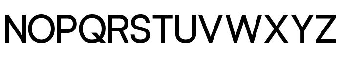 Leonare Semi-Bold Font UPPERCASE