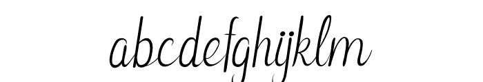 Leonita Italic Font LOWERCASE