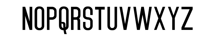 Lesterain Thin Font UPPERCASE