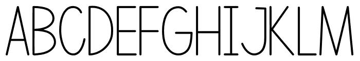 Letranilo Font UPPERCASE