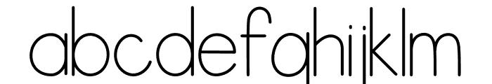Letranilo Font LOWERCASE