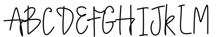 Lettered Font UPPERCASE
