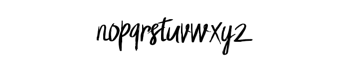 Letto Font LOWERCASE