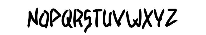 Light contrast Font UPPERCASE