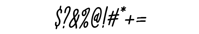 Lightness Italic Font OTHER CHARS