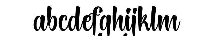 LightningScript Font LOWERCASE