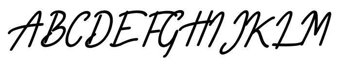 Limestone Ridge Script Press Font UPPERCASE
