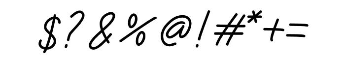 Limestone Ridge Script Font OTHER CHARS