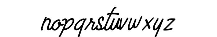Limestone Ridge Script Font LOWERCASE