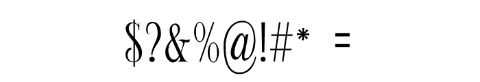 Limit Corner Font OTHER CHARS