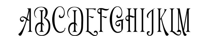 Limit Corner Font UPPERCASE