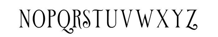 Limit Corner Font LOWERCASE