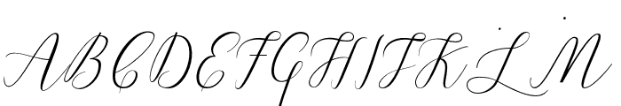 LindageScript Font UPPERCASE
