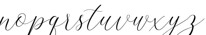 LindageScript Font LOWERCASE