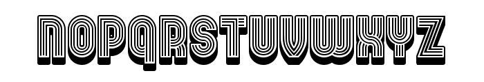 Linearo Straight Regular Font UPPERCASE