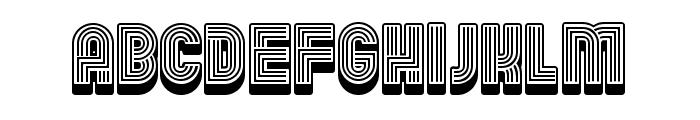 Linearo Straight Regular Font LOWERCASE