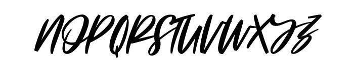 Linoela Font UPPERCASE