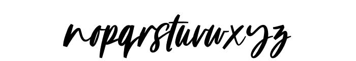 Linoela Font LOWERCASE