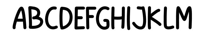 Little Christmas Bold Font UPPERCASE
