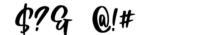 Little Kimberly Font Regular Font OTHER CHARS