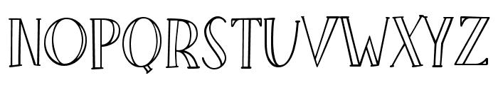 Little Poppy Regular II Font UPPERCASE