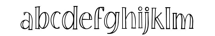 Little Poppy Regular II Font LOWERCASE