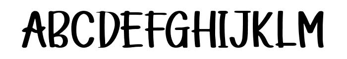 Little Smile Font UPPERCASE