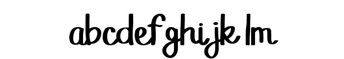 Little Smile Font LOWERCASE