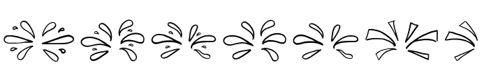 Little pinky doodles Font UPPERCASE