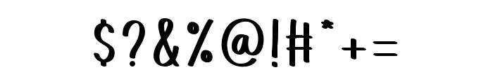 LittlePandaRegular Font OTHER CHARS