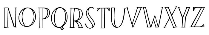 LittlePoppy-Regular II Font UPPERCASE